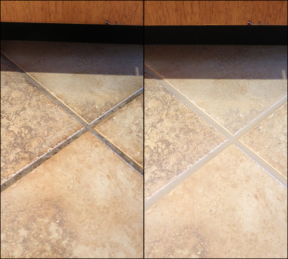 Sealing travertine tile floors